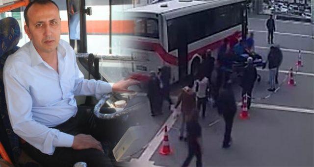 Dolmuş ambulans oldu, şoförü hayat kurtardı
