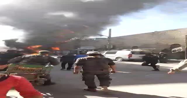 El Bab'da büyük patlama!