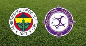 Fenerbahçe Osmanlıspor Şifresiz Canlı İZLE