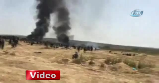 İsrail askerleri Gazze sınırında dehşet saçtı!