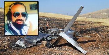 Hayatını kaybeden pilotun son görüntüleri