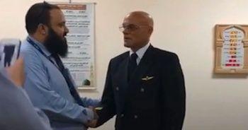 İtalyan pilot havaalanı mescidinde Müslüman oldu