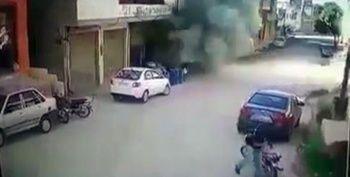 İdlib'de sivillerin üzerine bombalar böyle yağıyor