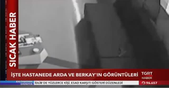 Arda Turan ile Berkay kavgasının hastane görüntüleri ortaya çıktı