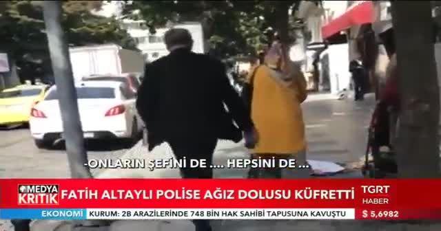 Fatih Altaylı'dan trafik polisine ağır sözler