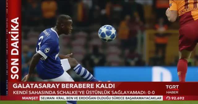 Galatasaray Schalke MAÇI Geniş Özeti İzle! GS SCHALKE maçı Kaç Kaç Sona Erdi? GS maç özeti video