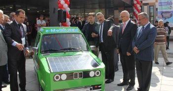 Hurda araçtan güneş enerjili otomobil yaptılar