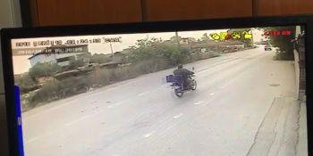 İnegöl'de dehşet veren kaza saniye saniye kamerada