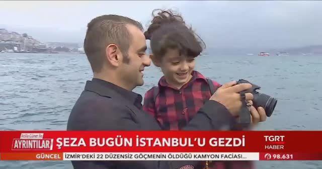 Suriyeli Şeza, TGRT Haber ile İstanbul'u gezdi!