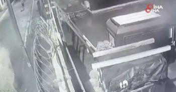 Beyoğlu'nda Cezayir uyruklu şahsın öldürüldüğü anlar kamerada