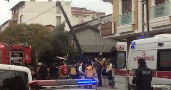 Sancaktepe'de askeri helikopter düştü: 4 şehit