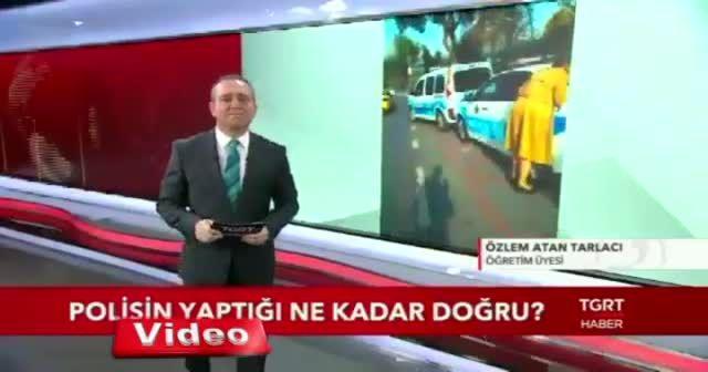 Trafik polisinden ceza yiyen akademisyen ilk defa TGRT Haber'e konuştu