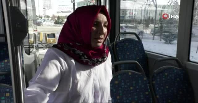 'Git evinde bulaşık yıka' diyenlere inat, otobüs şoförü oldu