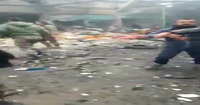 Afrin patlama sonrası