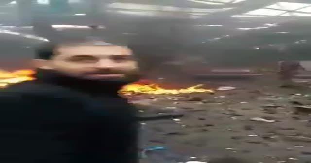 Afrin patlama sonrası 2