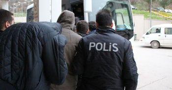 Amasya merkezli uyuşturucu operasyonunda 5 tutuklama, 14 şüpheli adliyede
