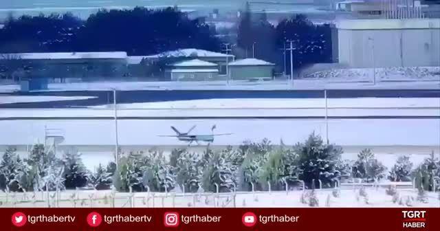 ANKA İHA'nın yerli ve milli motoru ile ilk uçuşu ve ekibin monitör başındaki sevinci...