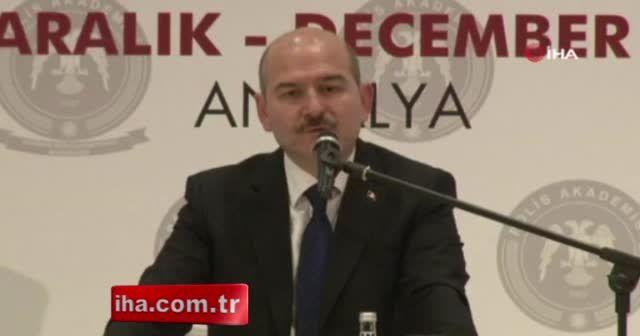 Bakan Soylu'dan uyuşturucuyla mücadele açıklaması