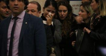 Balkondan düşerek hayatını kaybeden avukat son yolculuğuna uğurlandı