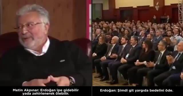 Cumhurbaşkanı Erdoğan: Beni ipe götürmek senin haddine mi