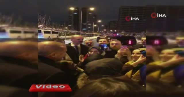 Cumhurbaşkanı Erdoğan'dan öğrencilere sürpriz