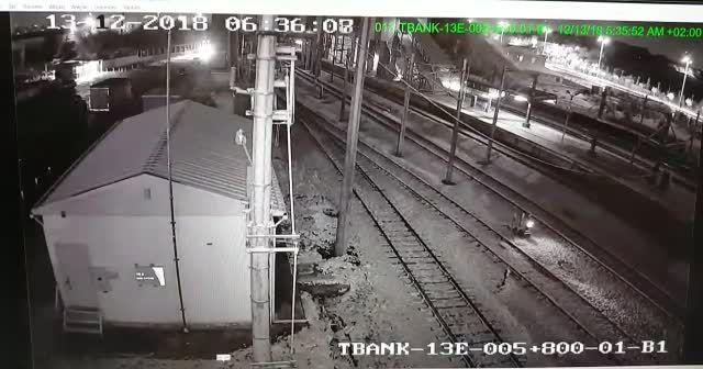 Ankara'da meydana gelen tren kazasının görüntüleri ortaya çıktı