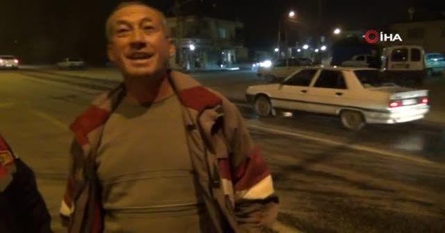 Kırmızı ışıkta beklerken alev alan otomobil küle döndü