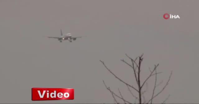 Uçaklar beşik gibi sallandı!