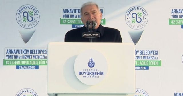 Mevlüt Uysal: 'Arnavutköy geleceğe umutla bakıyor'