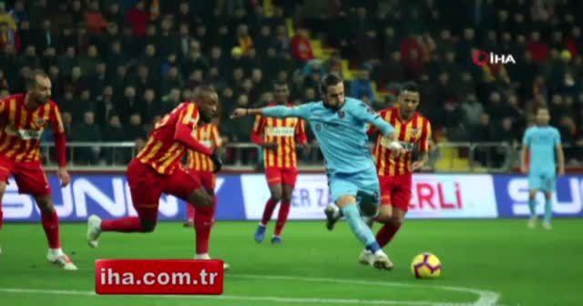 ÖZET İZLE: Kayserispor 0-2 Trabzonspor FULL özeti ve golleri izle | Kayseri, TS maçı skoru geniş özeti VİDEO
