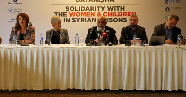 STK'lardan Suriye zindanlarındaki kadın ve çocuklar için çağrı!