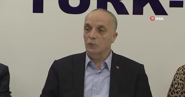Türk-İş Genel Başkanı Atalay: Fransa'da gitmedi, 3 gün sonra bizim burada da aynısı olur