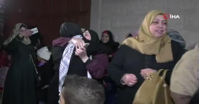 Filistinli Lema özgürlüğüne kavuştu