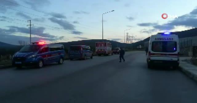 İzmir'de fabrikada kazan patladı: 1 ölü, 3 yaralı
