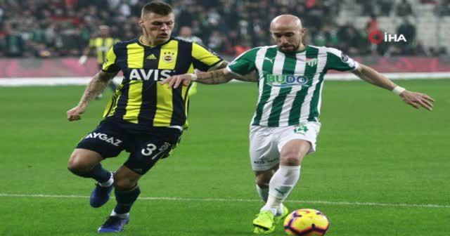 Bursaspor - Fenerbahçe maçından kareler
