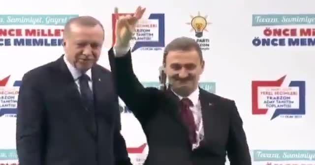 Cumhur İttifakı adayı Cumhurbaşkanı Erdoğan'dan Bozkurt için izin istedi
