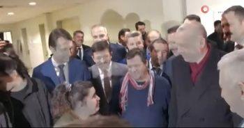 Cumhurbaşkanı Erdoğan ile vatandaş arasında güldüren sohbet