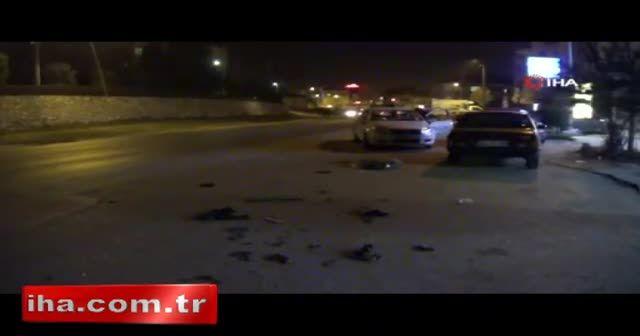 Dikkatsiz sürücü dehşet saçtı: 1 yaralı
