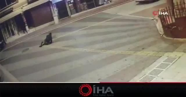Önce böyle vurdular, sonra arabaya alıp hastaneye götürdüler