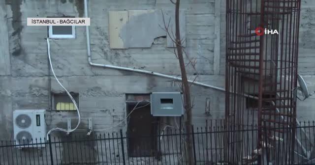 Bağcılar'da 9 katlı bir bina görenleri hayrete düşürdü