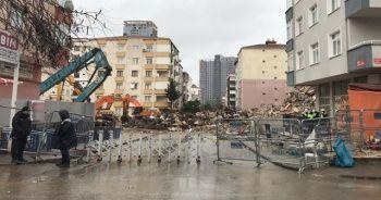 Kartal'daki Yunus Apartmanında yıkım tamamlandı