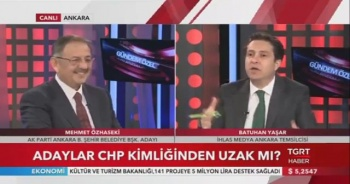 Mehmet Özhaseki'den TGRT Haber'e özel açıklamalar