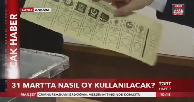 31 Mart'ta nasıl oy kullanılacak?