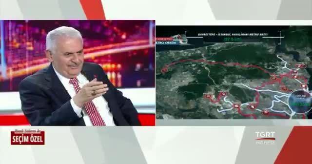 Binali Yıldırım'dan İstanbul trafiğini rahatlatacak çözümler