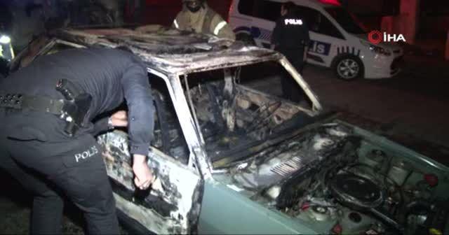 Eski kocasının aracını kundakladığı iddiası polisi harekete geçirdi