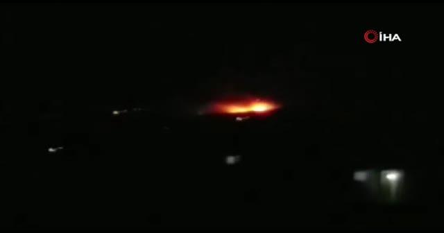 İsrail'den Halep'e füze saldırısı