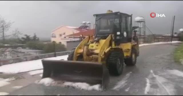 KKTC şiddetli fırtına etkisi altında