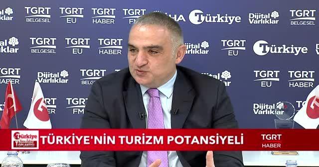 Kültür ve Turizm Bakanı Mehmet Nuri Ersoy Türkiye Gazetesi'nin Gündem Toplantısında konuştu