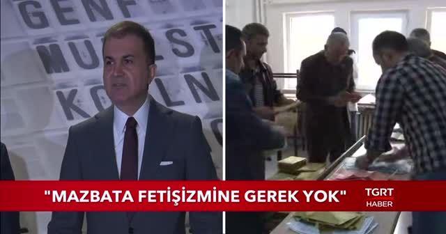 AK Parti Sözcüsü Çelik'ten seçim açıklaması: