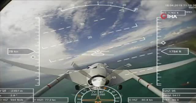 Bayraktar SİHA'sı Akdeniz semalarında ilk test uçuşunu yaptı